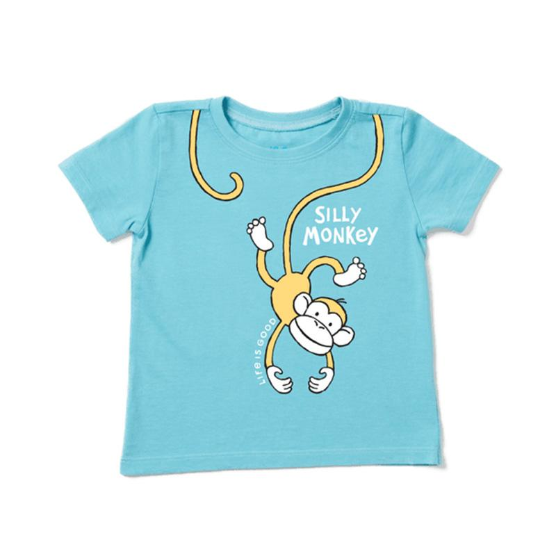 Toddler Silly Monkey Crusher Tee