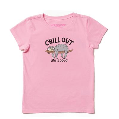 Girl's Chill Out Sloth Crusher Tee