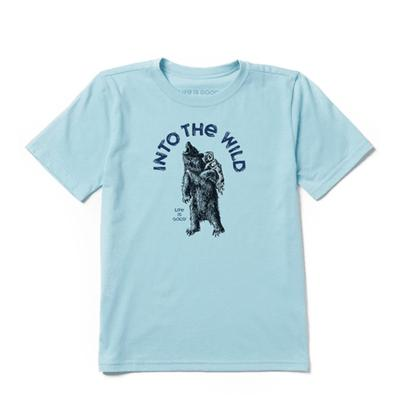 Boy's Into the Wild Bear Cool Tee