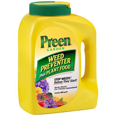 PREEN WEED PREVENTOR + PLANT FOOD