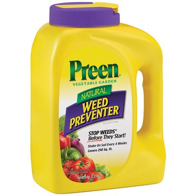 Natural Vegetable Garden Weed Preventer