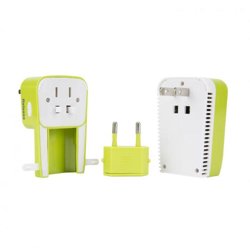 Universal 3- In- 1 Adapter, Converter, And Usb Charger