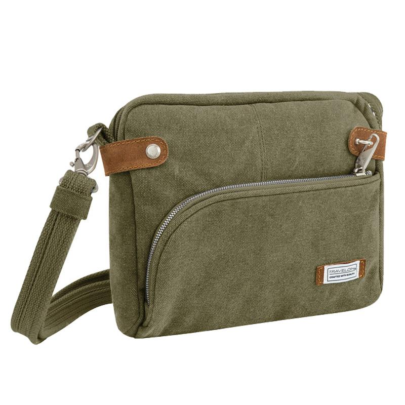Anti- Theft Heritage Small Crossbody Bag