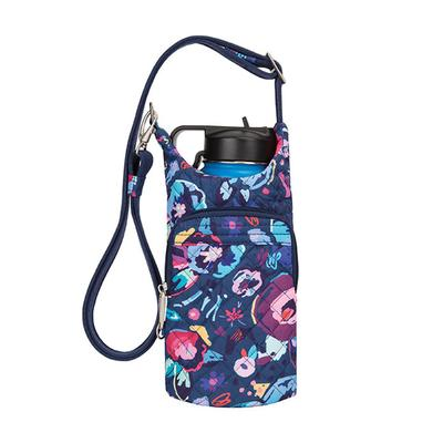 Anti-Theft Boho Water Bottle Tote