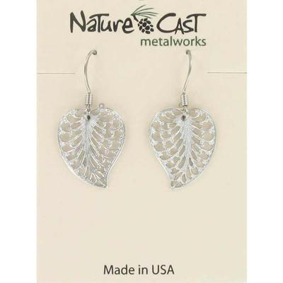 Women's Dangle Filigree Leaf