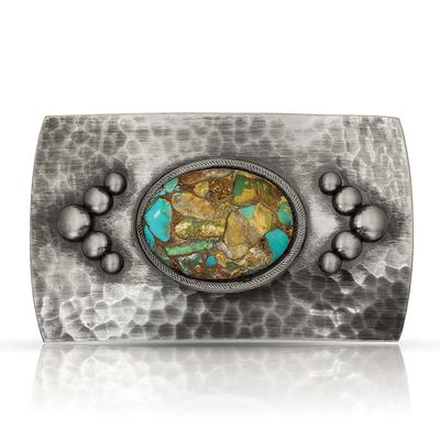 River Rock Cascade Turquoise Buckle