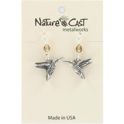 Hummingbird Dangle Earring