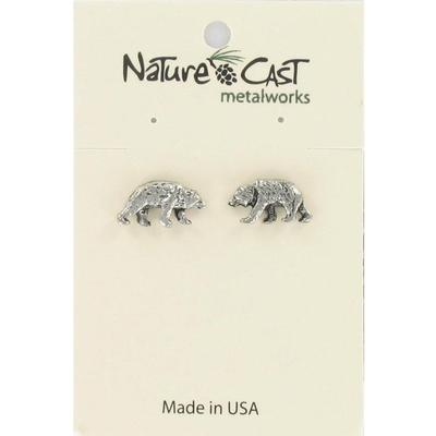 Bear Post Earring