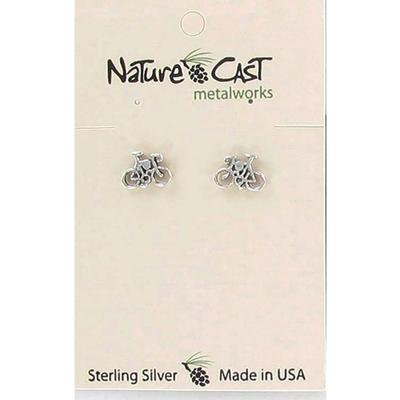 Bicycle Post Earring