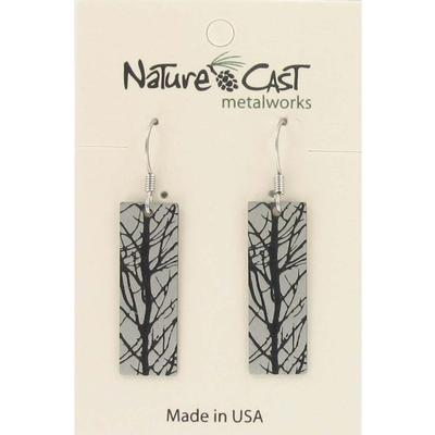 Abstract Branches Dangle Earring