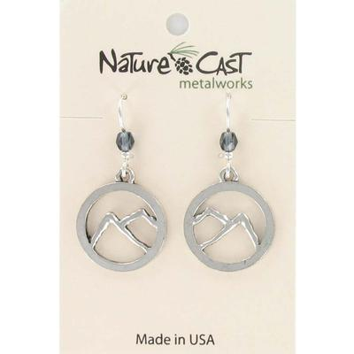 Mountains Cutout Dangle Earring