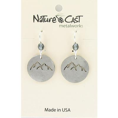 Mountain Peaks Cutout Dangle Earring