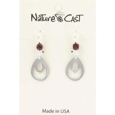 Oval Drop Dangle Earring