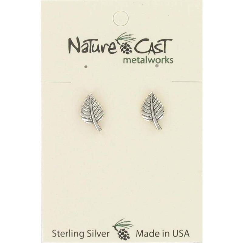 Aspen Leaf Post Earring