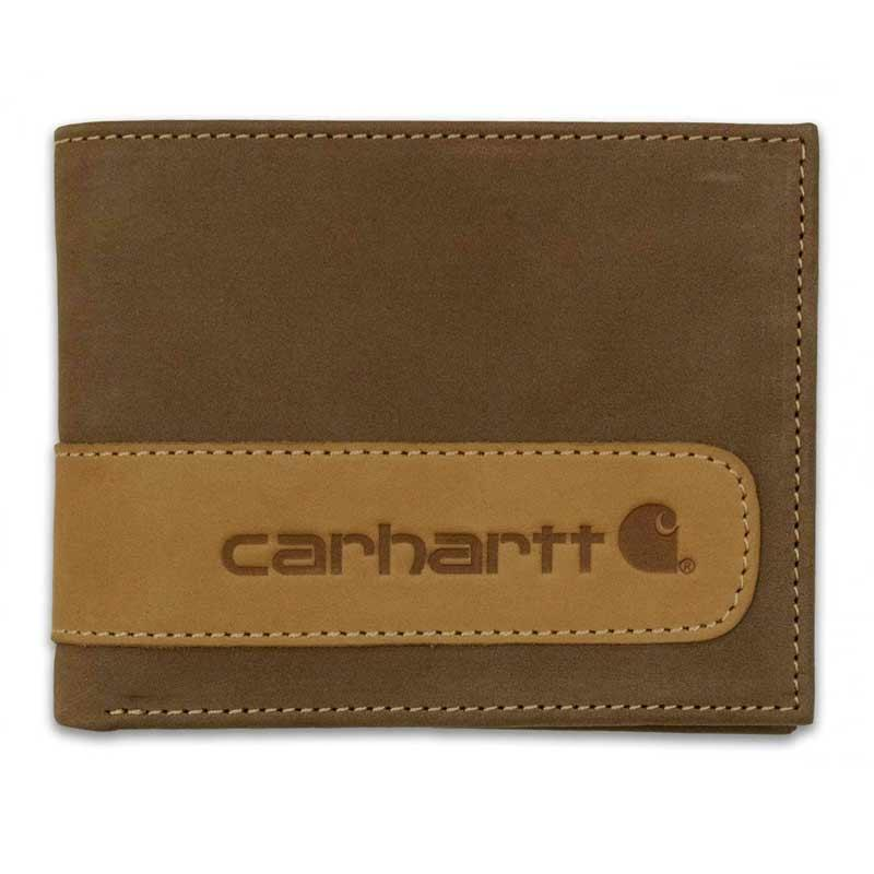 Two- Tone Billfold With Wing Wallet