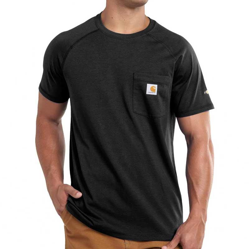 Men's Carhartt Force Cotton Delmont Short- Sleeve T- Shirt