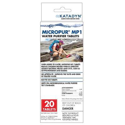 Micropur MP1 Water Purifier Tablets