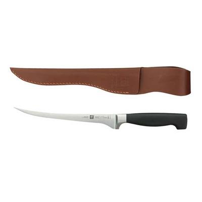 Fish Fillet Knife and Leather Sheath Set