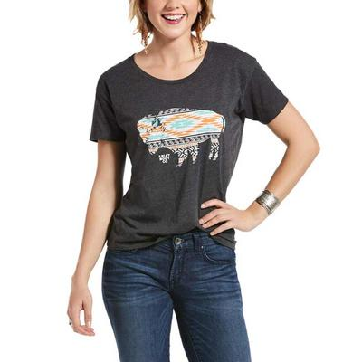Women's Old West Bison T-Shirt