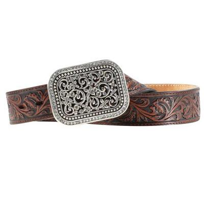 Women's Rhinestone Filligree Belt