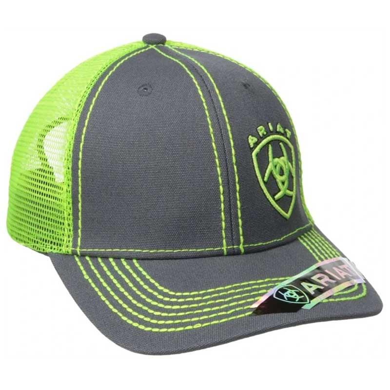 Men's Mesh Shield Logo Hat