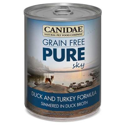 PURE Grain Free Wet Dog Food with Duck & Turkey