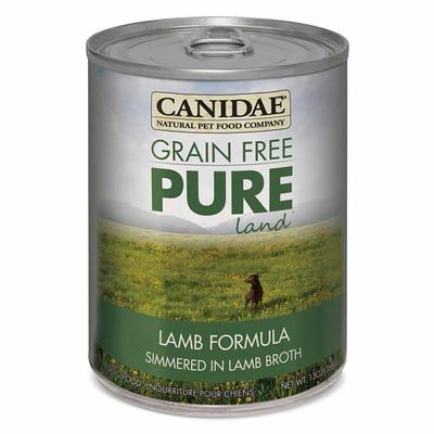 PURE Grain Free Wet Dog Food with Lamb