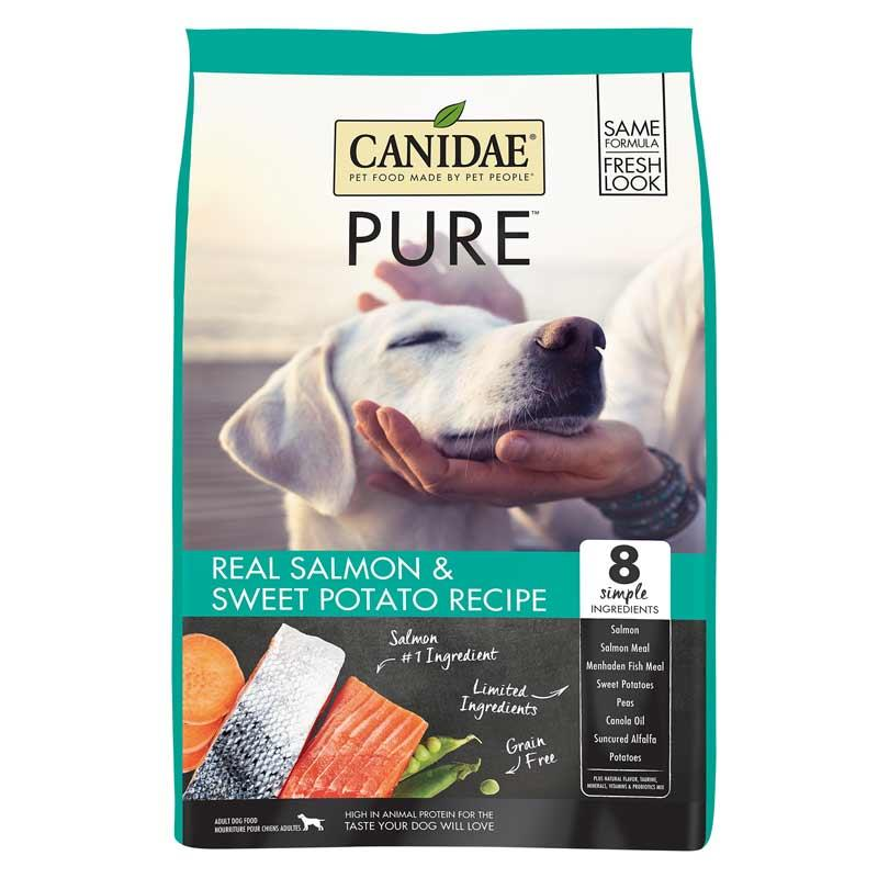 Pure Grain Free Dry Dog Food With Salmon