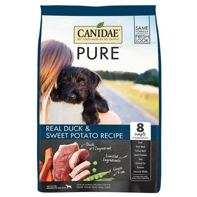 PURE Grain Free Dry Dog Food with Duck