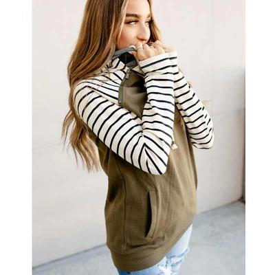 Olive You Forever Doublehood Sweatshirt