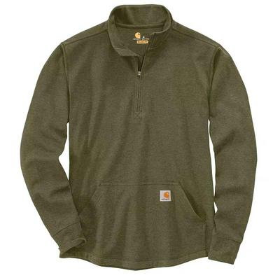 Men's Heavyweight Long-Sleeve Half Zip Thermal
