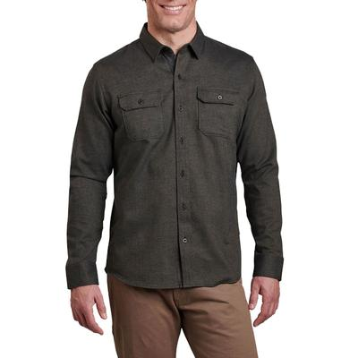Men's Descendr Flannel Long Sleeve Shirt