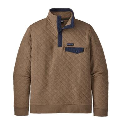 Men's Organic Cotton Quilt Snap-T Pullover