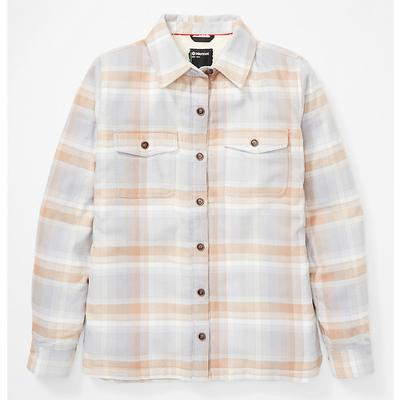 Women's Ridgefield Sherpa-Lined Long-Sleeve Flannel Shirt