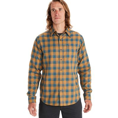 Men's Bodega Lightweight Flannel Long-Sleeve Shirt