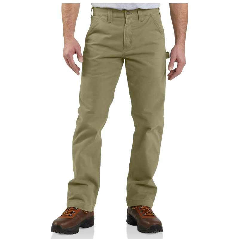 Men's Washed Twill Relaxed Fit Pant