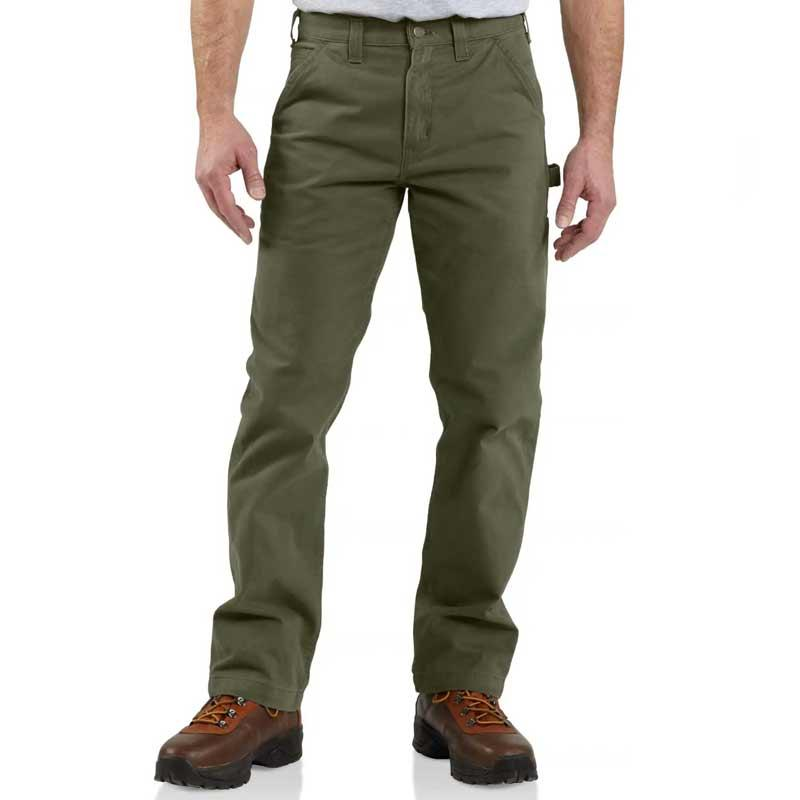 Men's Washed Twill Relaxed Fit Work Pant