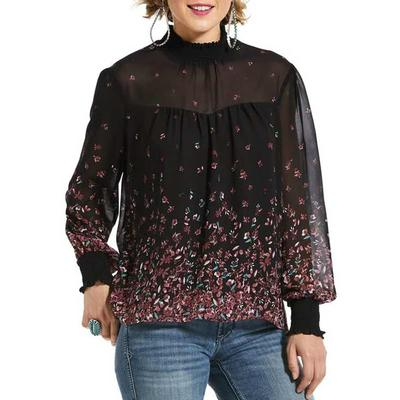 Women's Flower Fall Tunic