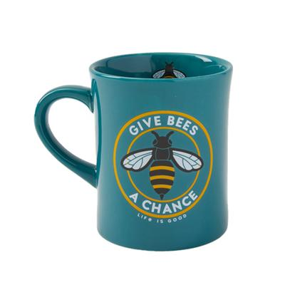 Give Bees a Chance Coin Diner Mug