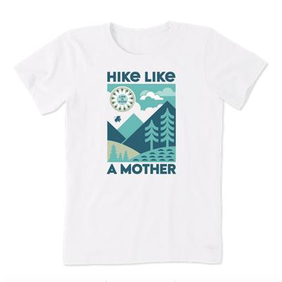 Women's Hike Like a Mother Crusher Tee