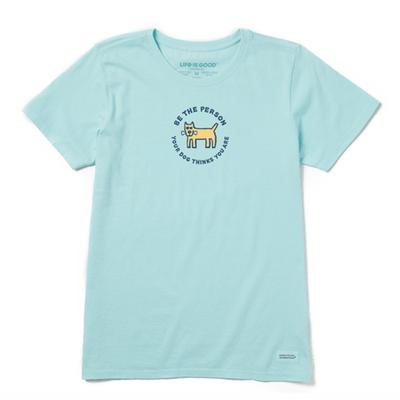 Women's Be the Person Vintage Crusher Tee