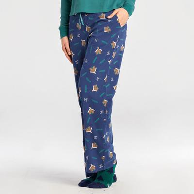 Women's Cabin Landscape Snuggle Up Sleep Pant