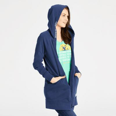 Women's Simply True French Terry Beyond Hip Hoodie