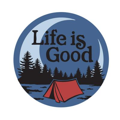 Camp Scenic 4-Circle Sticker