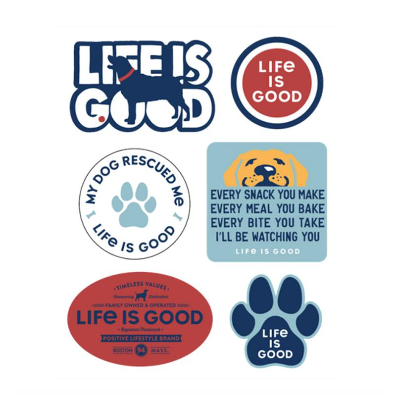 Dog Pack Six- Pack Sticker Pack