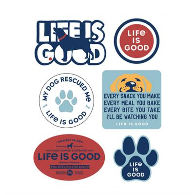 Dog Pack Six-Pack Sticker Pack