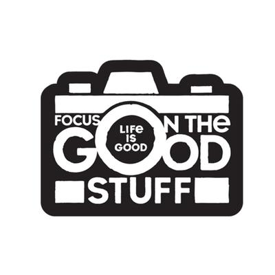 Focus on the Good Small Die Cut Decal