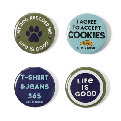 Homeslice Positive Pins 4-Pack