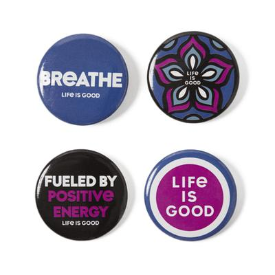 Wellness Positive Pins 4-Pack