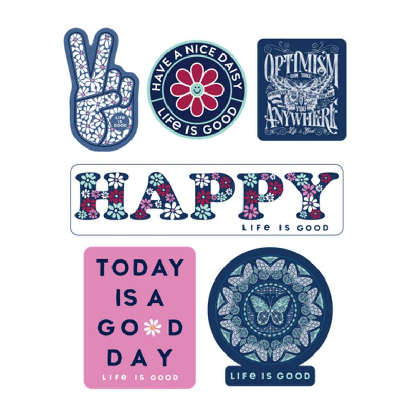 Happy Pack Six- Pack Sticker Pack